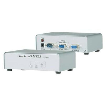 S-Link Msv-1215 2 Vga 150mhz Monitör Çoklayıcı VGA Kablolar