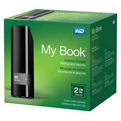 WD 2TB My Book WDBFJK0020HBK Taşınabilir Disk