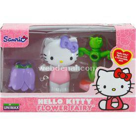 Necotoys Hello Kitty Çiçek Perisi Figür 6 Cm Model 1 Kız Çocuk Oyuncakları