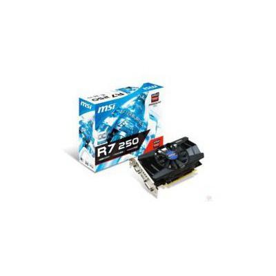 MSI R7 250 Oc 2gb Gddr3 128bit Vga Dvi Hdmi Ekran Kartı