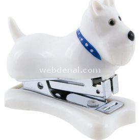 Necotoys Köpek Figürlü Mini Zımba Ofis / Kırtasiye Ürünü