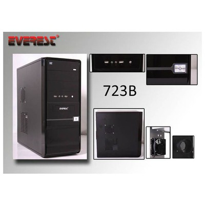 Everest 723b Kas Everest 250w Usb Atx/matx Uyum Sıyah Kasa