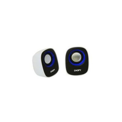 Snopy Sn-120-bm Sn-120 2.0 Beyaz/mavi Usb Speaker