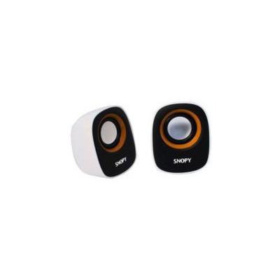 Snopy SN-120-BT 2.0 Beyaz/Turuncu Usb Speaker