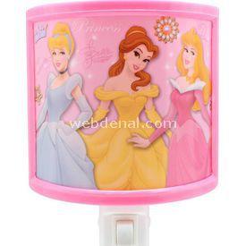 YKC Disney Prenses Gece Lambası Lamba & Abajur