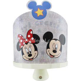 YKC Minnie & Mickey Mouse 3d Ledli Sihirli Gece Lambası Lamba & Abajur