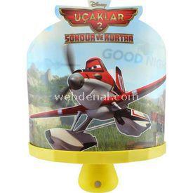 YKC Uçaklar 3d Ledli Sihirli Gece Lambası Lamba & Abajur