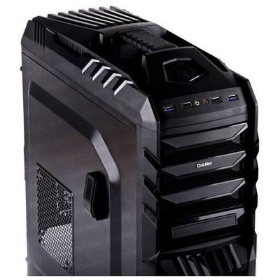 Dark DKCHSUBZERO Sub-Zero 4xUSB (2xUSB3.0, 2xUSB2.0), 2x12 cm Fan, ATX Siyah Kasa