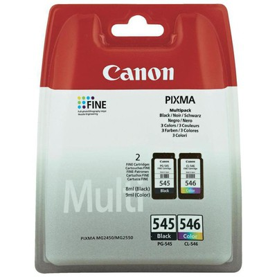 Canon PG-545-CL-546 Siyah+Renkli Kartuş