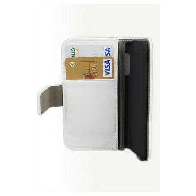 Microsonic Cüzdanlı Standlı Deri Kılıf - Ipod Touch 5 Beyaz Cep Telefonu Kılıfı