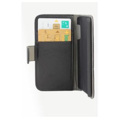 Microsonic Cüzdanlı Standlı Deri Kılıf - Ipod Touch 5 Siyah Cep Telefonu Kılıfı