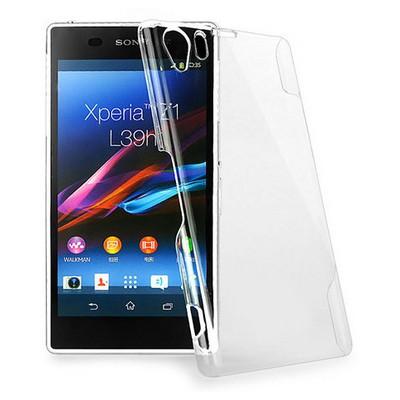 Microsonic Kristal Şeffaf Kılıf - Sony Xperia Z1 L39h Cep Telefonu Kılıfı