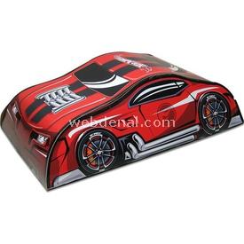 Hot Wheels Çantalı Araç Oyun Parkuru Kırmızı Erkek Çocuk Oyuncakları