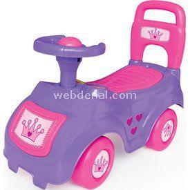 Dolu Bingit Araba Pembe Bahçe Oyuncakları