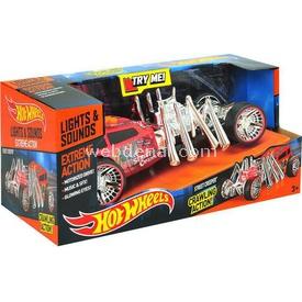 Hot Wheels Street Creeper Hareketli Sesli Ve Işıklı Oyuncak Araba Arabalar