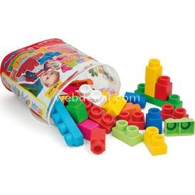 Clementoni Clemmy Plus Çanta Blok Seti 30 Parça Lego Oyuncakları