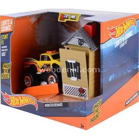 Hot Wheels Stunt Fx Hareketli Sesli Ve Işıklı Rampa Oyun Seti Sarı Erkek Çocuk Oyuncakları