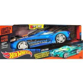 Hot Wheels Hareketli Sesli Ve Işıklı Renk Değiştiren Oyuncak Araba Mavi Arabalar