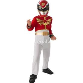 Rubies Power Rangers Red Ranger Çocuk Kostümü (127-137 Cm) Kostüm & Aksesuar