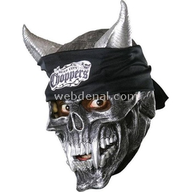 Rubies Speed Demon 3/4 Vınyl Kurukafa Maske Kostüm & Aksesuar