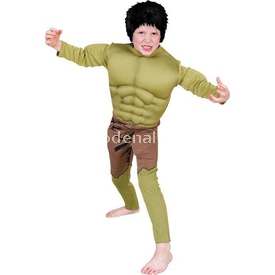 Rubies Hulk Çocuk Kostüm Premium 6-8 Yaş Kostüm & Aksesuar