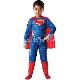 Rubies Superman Yeni Klasik Çocuk Kostümü 7-8 Yaş Kostüm & Aksesuar