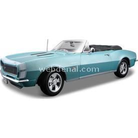 Maisto 1967 Chevrolet Camaro 396 C. 1:18 Model Araba S/e Mavi Arabalar
