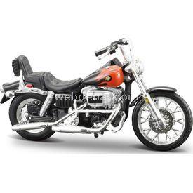 Maisto Harley-davidson 1980 Fxwg Wide Glide 1:18 Maket Kit Motosiklet Puzzle