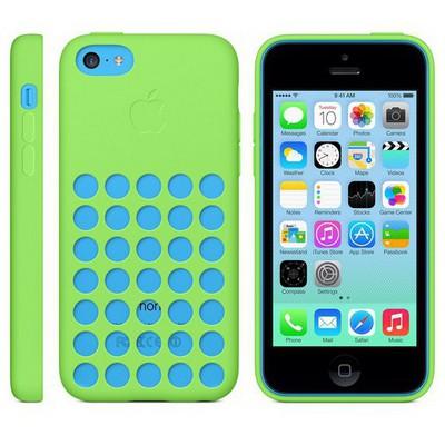 Apple İPHONE 5C CASE - Yeşil MF037ZM-A Cep Telefonu Kılıfı