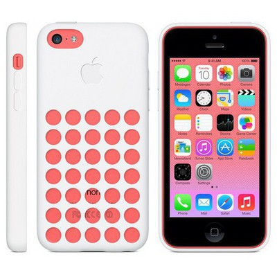 Apple İPHONE 5C CASE - Beyaz MF039ZM-A Cep Telefonu Kılıfı