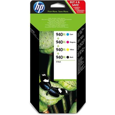 HP 940XL C/M/Y/BK 4'lü C2N93A Kartuş