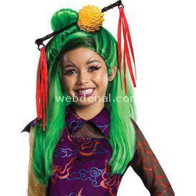 Rubies Monster High Jinafire Long Peruk Kostüm & Aksesuar
