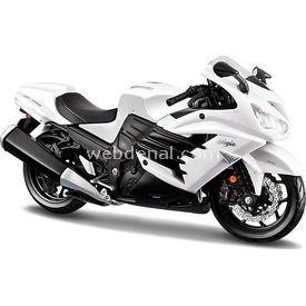 Maisto 1:12 Kawasaki Ninja Zx-14 R Beyaz Model Motosiklet Arabalar