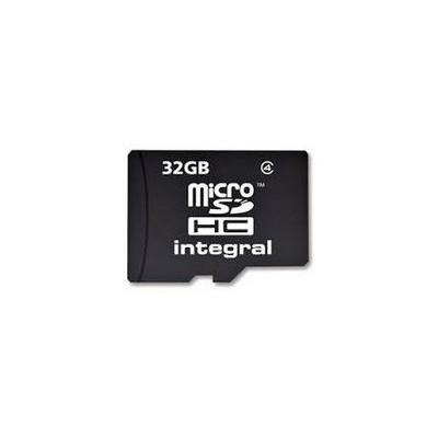 Integral 32gb Micro Sdhc + Adaptor