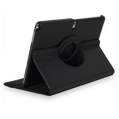Microsonic 360 Rotating Stand Deri Kılıf Samsung Galaxy Note 10.1 2014 Edition P600 Siyah Tablet Kılıfı