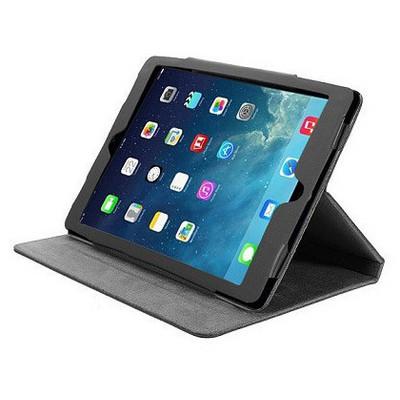 Microsonic Cute Desenli Kickstand Ipad 5 Air Deri Kılıfı Siyah Tablet Kılıfı
