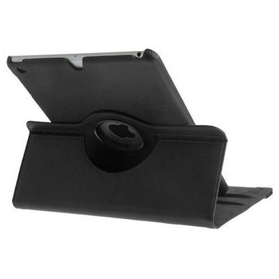 Microsonic 360 Rotating Stand Deri Kılıf Ipad 5 Air Siyah Tablet Kılıfı
