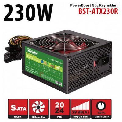 Boost Jpsu-bst-atx230r Power Bst-atx230r 230w 12cm Kırmızı Fan Siyah Atx Power Supply