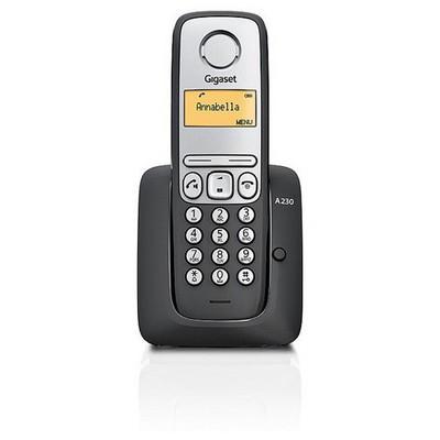 Gigaset A230 Siyah Arama Handsfree Eco Dect Telsiz Telefon