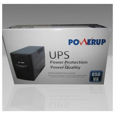 PowerUP 0.65kVA Kesintisiz Güç Kaynağı (UPS-PL-1065VA-0)