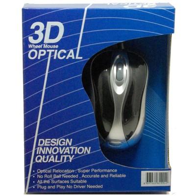 SNT Sxm842 Usb 800 Dpi Optik 3b+1 Gri/ Siyah Mouse