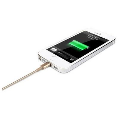 Microsonic 8pin Iphone / Ipad Gold Usb Data Ve Şarj Kablosu Ios 8 Uyumlu Dönüştürücü Kablo