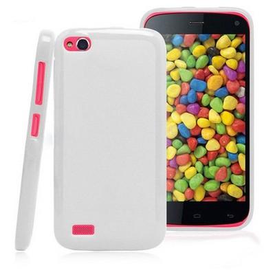 Microsonic Glossy Soft Kılıf General Mobile Discovery Beyaz Cep Telefonu Kılıfı