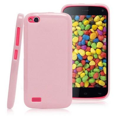 Microsonic Glossy Soft Kılıf General Mobile Discovery Pembe Cep Telefonu Kılıfı