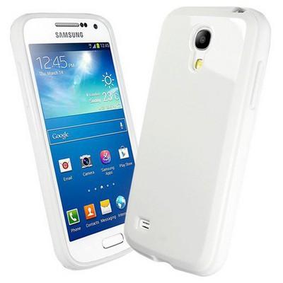 Microsonic Glossy Soft Kılıf Samsung Galaxy S4 Mini I9190 Beyaz Cep Telefonu Kılıfı