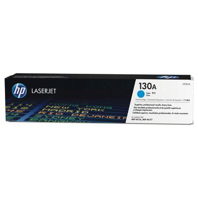 HP 130A Mavi CF351A 1000 Sayfa Toner