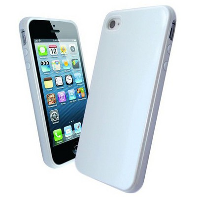 Microsonic Glossy Soft Kılıf Iphone 4s Beyaz Cep Telefonu Kılıfı