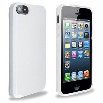 Microsonic Glossy Soft Kılıf Iphone 5 & 5s Beyaz Cep Telefonu Kılıfı