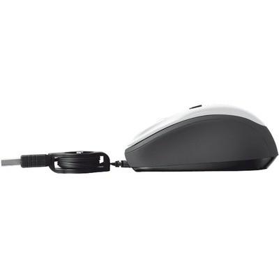 Trust  Yvi Retractable Kablolu Mouse - Beyaz (19652)