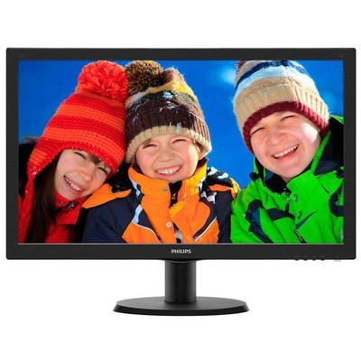 "Philips 243V5LAB/01 23.6"" 5ms LED Monitör"